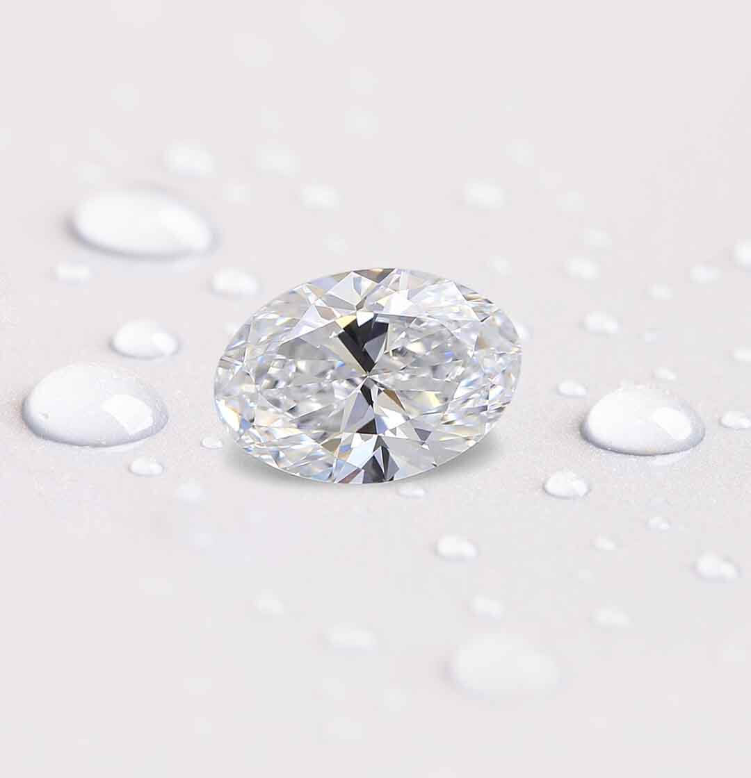 round shaped diamond